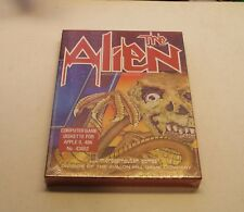 The Alien by Avalon Hill for Apple II+, Apple IIe, IIc, IIGS, NEW in the Big Box