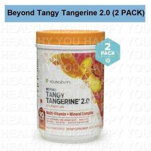 Beyond Tangy Tangerine 2.0 Citrus Peach Fusion [2 PACK] Youngevity BTT