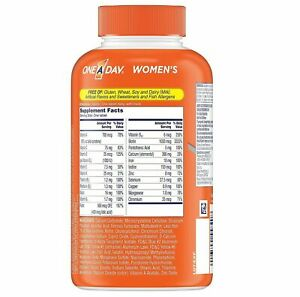 One A Day Women's Multivitamin and Multimineral Tablets - 300 Count