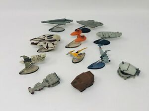 Star Wars Micro Machines Starships Lot Of 11 Galoob