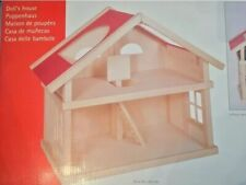 GOKI Holz-Puppenhaus - 2 Etagen - NEU/ OVP