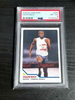 2008 S.I. For Kids USAIN BOLT #294 PSA 8 NM-MT! Rookie Card!