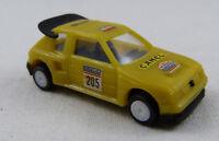 """Peugeot 205 Turbo 16 """"Camel"""" Rennwagen gelb Miber 1:87 H0 ohne OVP [GO2]"""