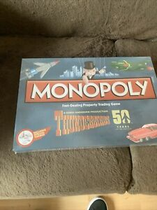 Thunderbirds Monopoly Board Game 50 Years Limited Edition New Special Tokens