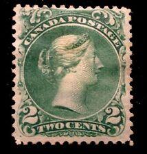 Canada stamp #24 mint OG HR F