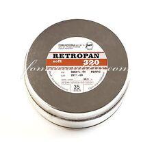 Fomapan 320 Retro Soft Black and White 35mm Camera Film. 100ft 30.5m Bulk Rol