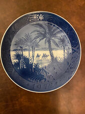 Royal Copenhagen 1972 Collectible Christmas Plate