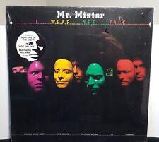 """Mr. Mister """"I Wear The Face"""" vinyl LP still SEALED"""