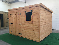 Garden shed 10 x 8 13mm cladding pent *FREE INSTALLATION* WINTER SALE!!