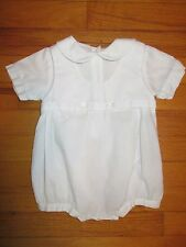 Petit Ami Hand Embroidered Romper/Shortall Size 6 months
