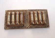 ancien bijoux broche bronze de Jeanne Peral n°5