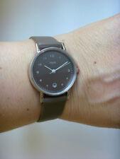M&m Germany reloj fantastico m11916-847 con cuero grafito mini Basic con fecha