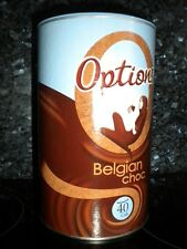 OPTIONS BELGIAN CHOC LUXURY HOT CHOCOLATE DRINK 825g FREE P&P