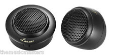 """One Pair 1"""" Car Audio Stereo Sound Silk Dome TWEETER Speaker 3 Mounting Options"""