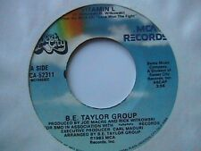 "B.E.TAYLOR ""VITAMIN L"" / ""LONELY AT THE BOTTOM"" 7"" 45 PITTSBURGH DISCO R.I.P."