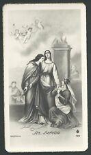 Estampa antigua de Santa Dorotea andachtsbild santino holy card santini