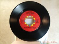 PETER, PAUL & MARY -(45)- DON'T THINK TWICE, IT'S ALL RIGHT / AUTUMN TO MAY-1963