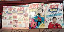 ART ATTACK MAGAZINES 4 INCLUDING SUMMER ANNUAL
