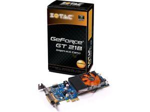 ZOTAC GT218IONGPU-A-E GeForce GT 218 - Graphic Card - 512 MB 790MHz DDR3