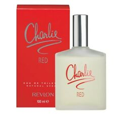 NEW REVLON CHARLIE RED EAU DE TOILETTE FOR WOMEN WITH FREE SHIPPING - 100 ML