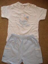 Girandola baby boy top and shorts age 12 months