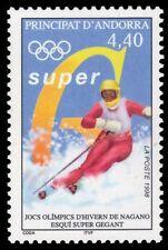 "FRENCH ANDORRA 490 - Nagano Olympics ""Downhill Skiing"" (pa64521)"
