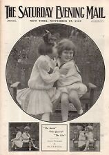 1909 Saturday Evening Mail November 27 - Yale-Harvard Football; Broadway Plays