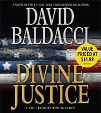 Camel Club: Divine Justice by David Baldacci Audio Book 5-Disc CD 2009 Abridged