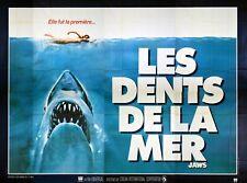 JAWS - ORIGINAL FRENCH BILLBOARD - VERY RARE POSTER
