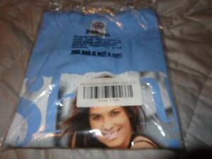 Shania Twain *Vintage Unworn Adult XL Light Blue Greatest Hits Cotton T-Shirt!