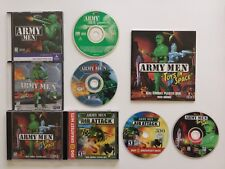 3DO Army Men, Army Men 2, Toys In Space With User Manual, & Air Attack PC Games
