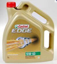 5L Huile CASTROL EDGE FST TITANIUM 10W60 BMW E60 M5 ( E34 E39 E60 )