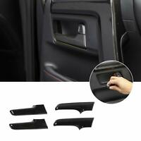 4Pcs Internal Door Handle Knobs Frame Cover Trim for Toyota 4Runner 2017-2019 T