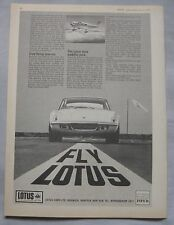 1970 Lotus Original advert No.2
