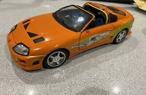 1:18 ERTL Fast And Furious Toyota Supra 1995 Racing Champions RARE model car toy
