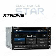 UK Double 2 DIN Car Radio Touchscreen GPS SAT NAV Bluetooth CD DVD Player Stereo