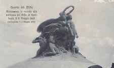 1916 CART. QUARTO DEI MILLE MONUMENTO IN RICORDO DEI MILLE DI GARIBALDI 11-311