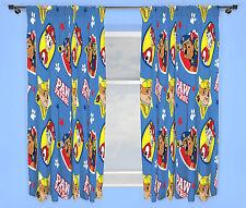 NUEVO Paw Patrol pawsome diseño azul Cortinas Niño Infantil dormitorio
