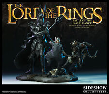 Lord of the rings Sauron vs The Numenorean Army Sideshow Weta NIB.  Hobbit