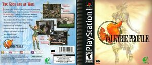 - Valkyrie Profile PS1 Replacement Box Art Case Cover Only