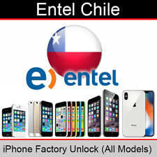 Entel Chile iPhone Factory Unlocking Service (All Models Supported)