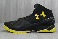 33 Rare Under Armour Curry 2 Dark Knight Taxi Basketball Shoes 11.5-13 1259007