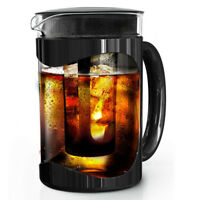 PRIMULA Burke Cold Brew Iced Coffee Maker with Brew Filter 1.6 QT Carafe Black!