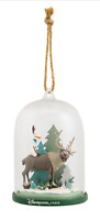 DISNEY PARKS DISNEYLAND PARIS FROZEN SVEN OLAF DOME CHRISTMAS ORNAMENT