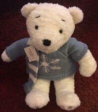 "Eddie Bauer Gund Polar Bear Plush With Sweater and Scarf 18"""