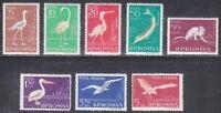 Romania 1957 MNH Mi 1686-1693 Sc 1194-1199,C53-C54 Animals WWF Fauna,birds,fish