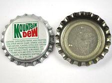 Vintage Mountain Dew Kronkorken USA Soda Bottle Cap Jefferson