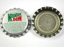 Vintage Mountain Dew Tapa de Botella Ee.Uu. Soda botella Cap Jefferson