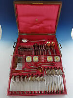 Austrian 800 Alfred Pollack Silver Flatware Set Service Fitted Box 115 Pieces