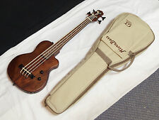 GOLD TONE MicroBass ME-Bass Short-Scale FRETLESS 4-string BASS guitar w/ GIG BAG